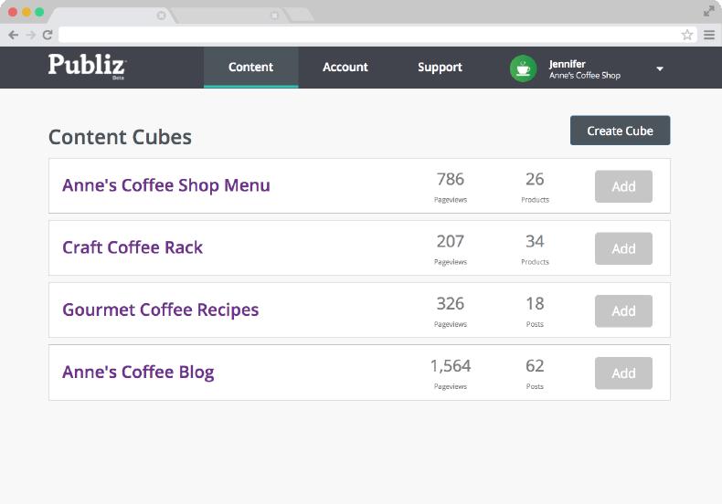 publiz platform screenshot png